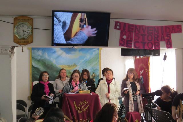 Convención extraordinaria de Dorcas en IMPCH Chiloé Santiago