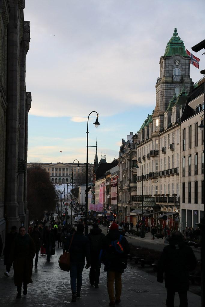 Oslo :準備回家