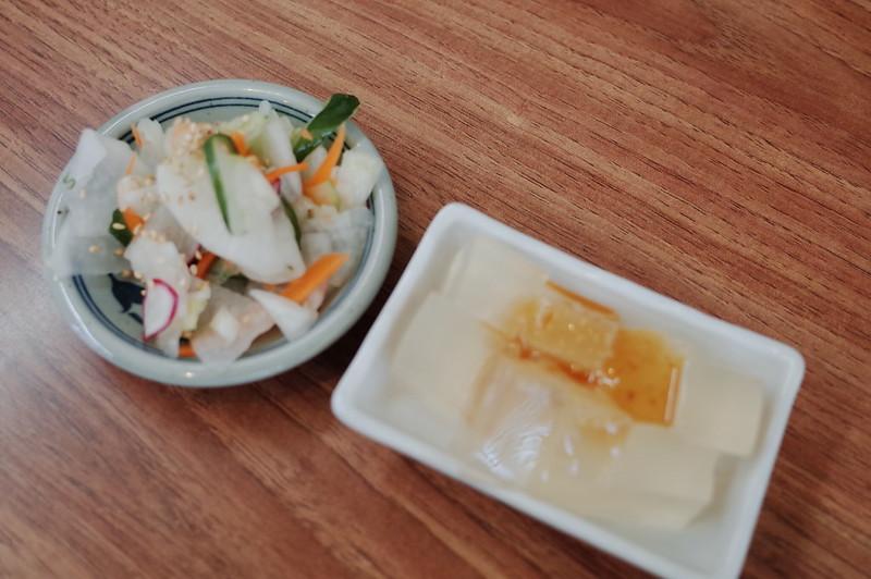 みさきまぐろきっぷの旅 城ヶ島中村屋お新香 ところてん味噌ダレ