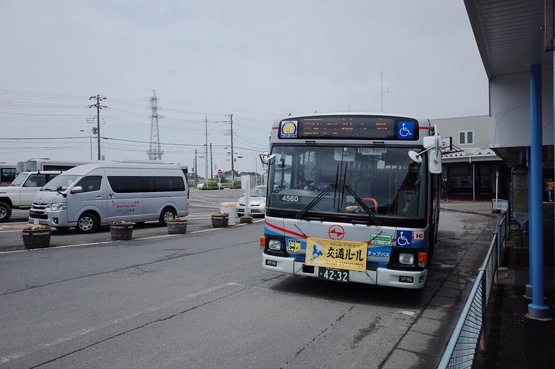 みさきまぐろきっぷの旅 京急三崎口駅城ヶ島行京急バス