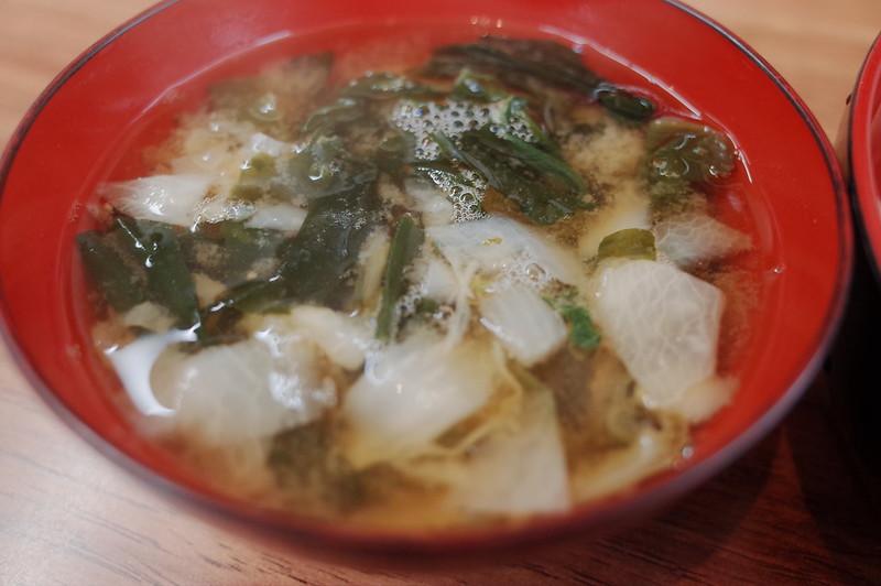 みさきまぐろきっぷの旅 城ヶ島中村屋わかめの味噌汁