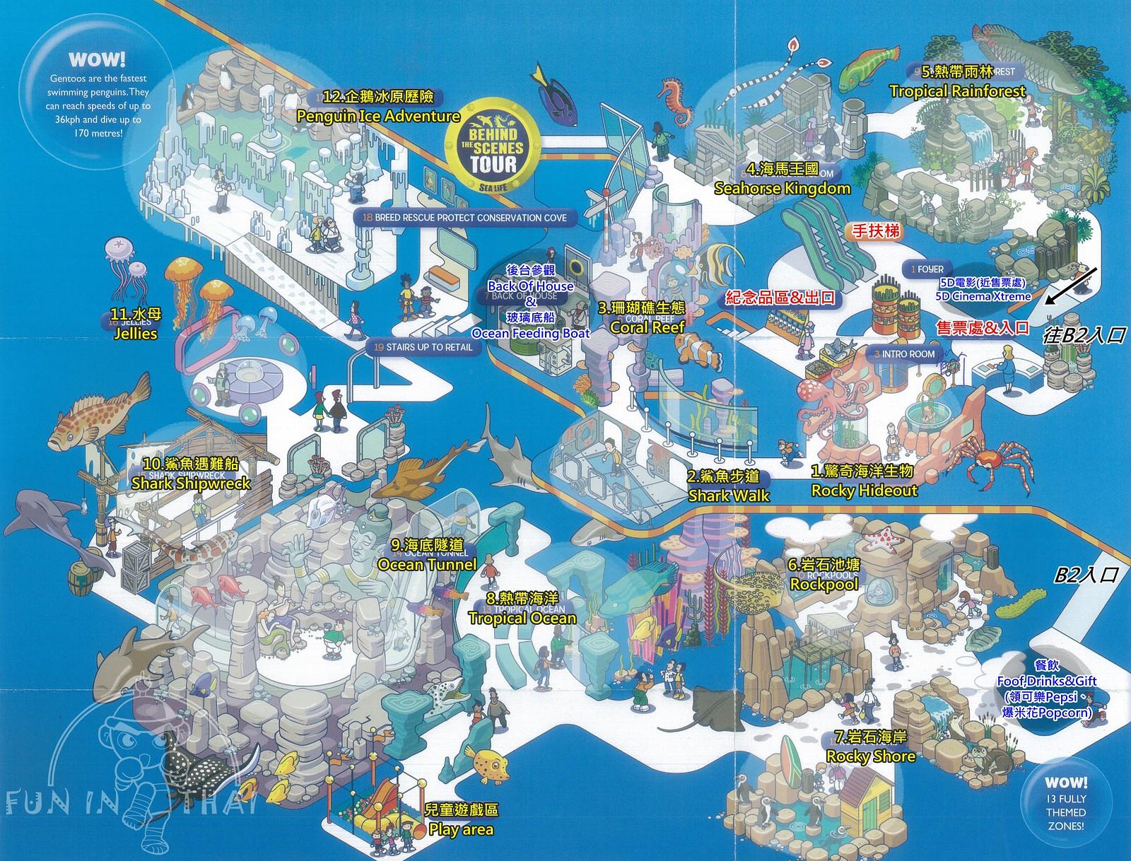 暹邏海洋世界