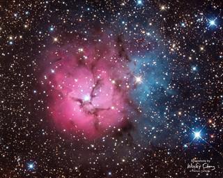 Trifid (M20; NGC 6514)