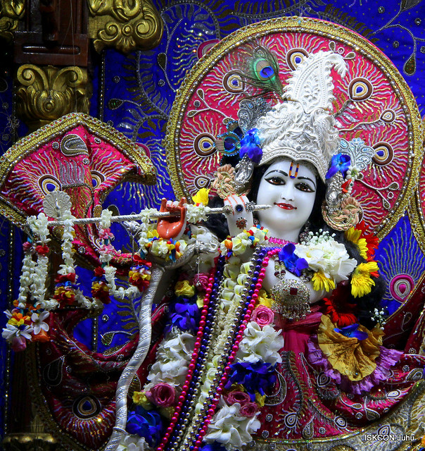 ISKCON Juhu Sringar Deity Darshan on 17th July 2019