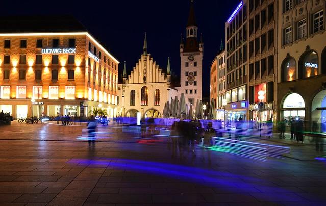 Munich - Marienplatz Rickshaws