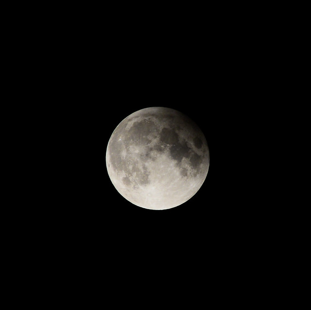 Partial Lunar Eclipse (Half Blood Full Moon)