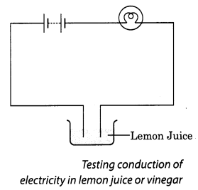 Chemical Effects of Electric Current Class 8 Science NCERT Textbook Questions A2