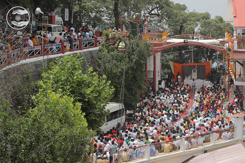An Arial view of congregation