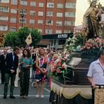 Procesión del Carmen en las Delicias (16-7-2019)