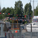 Celebration at Preston Marina Dockyard?