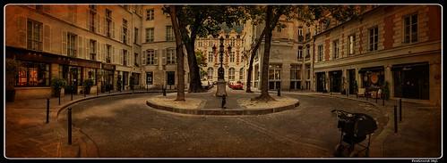 Paris_Place de Furstenberg_6e Arrondissement