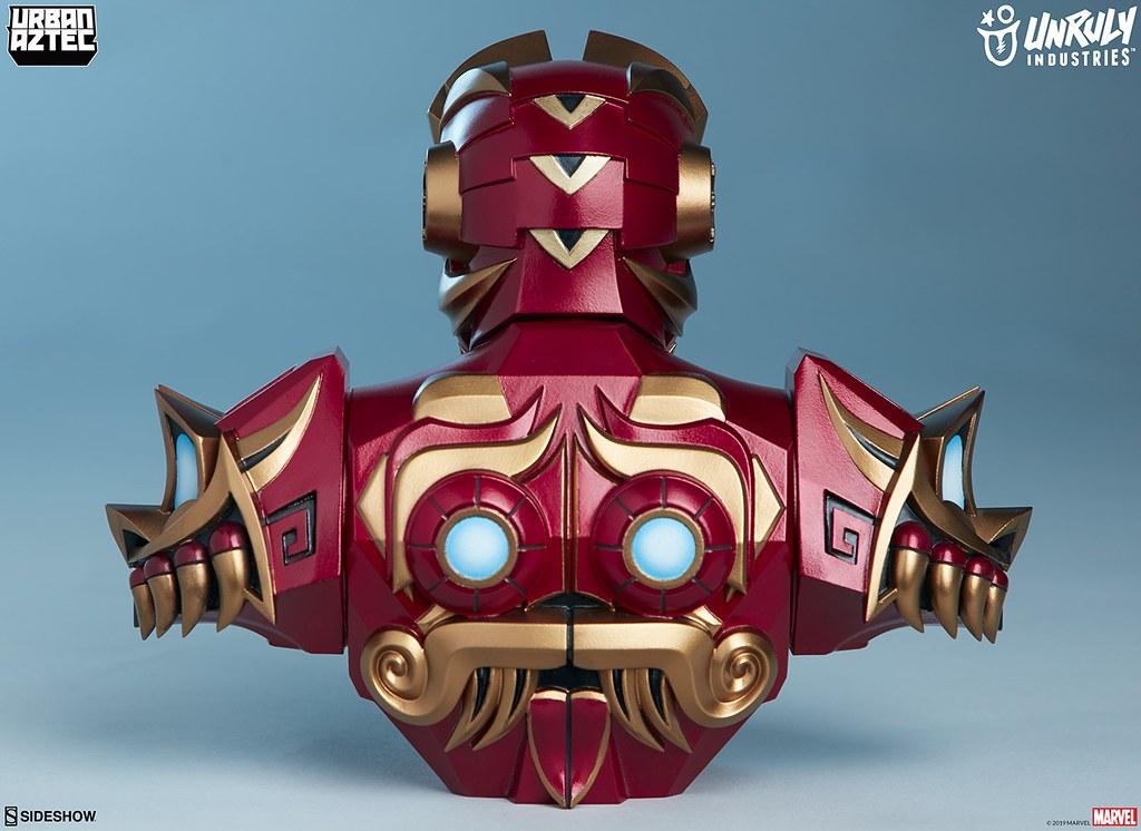 透過馬雅的神秘力量大幅強化?! Unruly Industries Marvel【鋼鐵人 by Jesse Hernandez】Iron Man by Jesse Hernandez