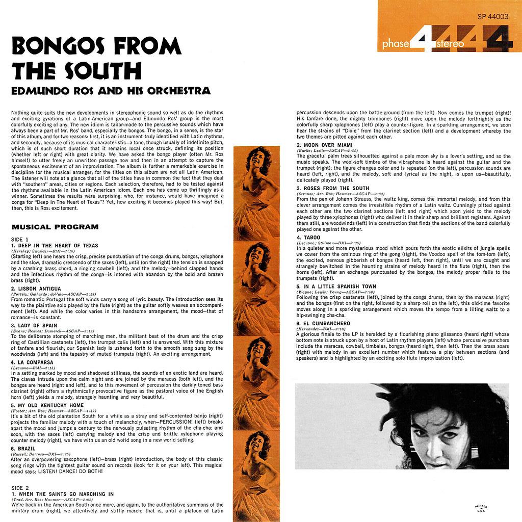 Edmundo Ros - Bongos From the South