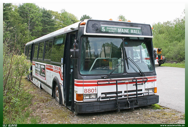 1988 Flxible 'Metro' Model 40102