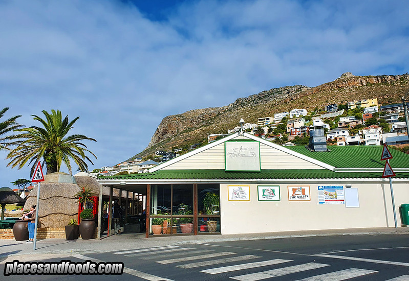cape town galley fish hoek restaurant