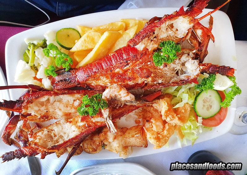 cape town galley fish hoek lobster