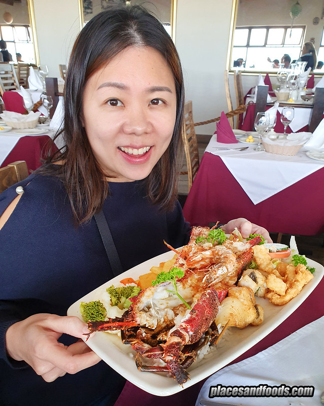 cape town galley fish hoek lobster places and foods