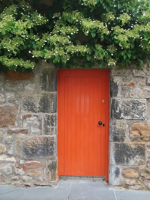 Daily Colours - Door and Stone Wall