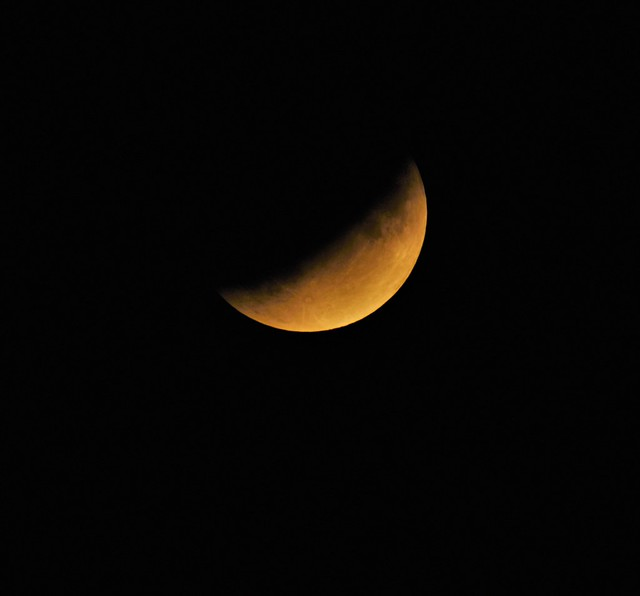 Partial Ecipse of the Moon.