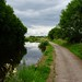 Cycle path along Lancaster Canal