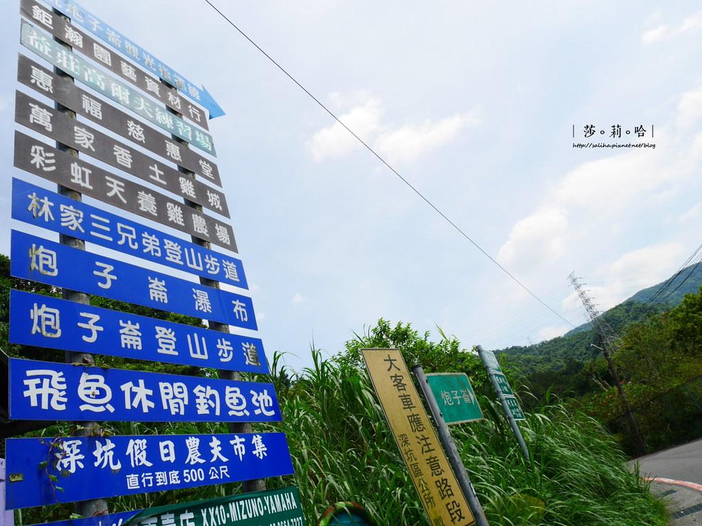 深坑一日遊景點推薦四龍瀑布泡仔崙瀑布怎麼去交通公車 (3)