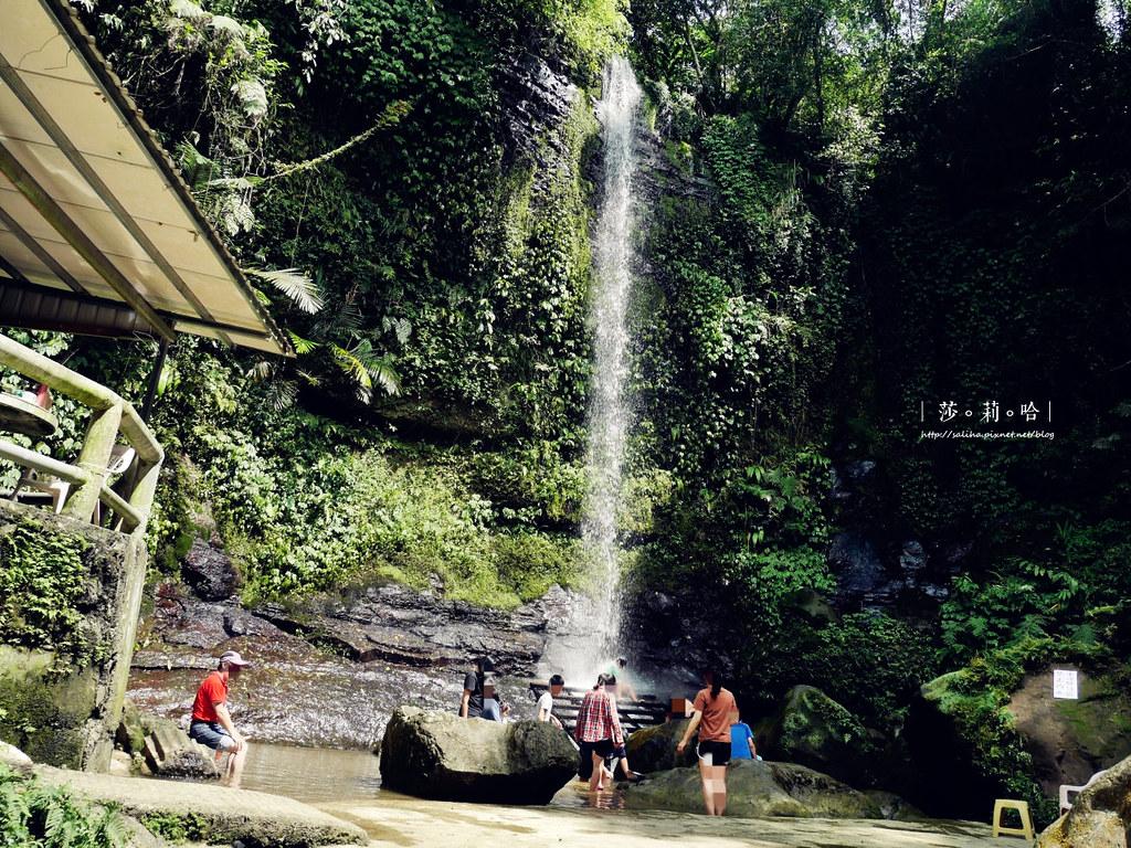 台北新北旅遊親子景點私房秘境夏天免費玩水瀑布踏青登山砲仔崙四龍瀑布 (4)