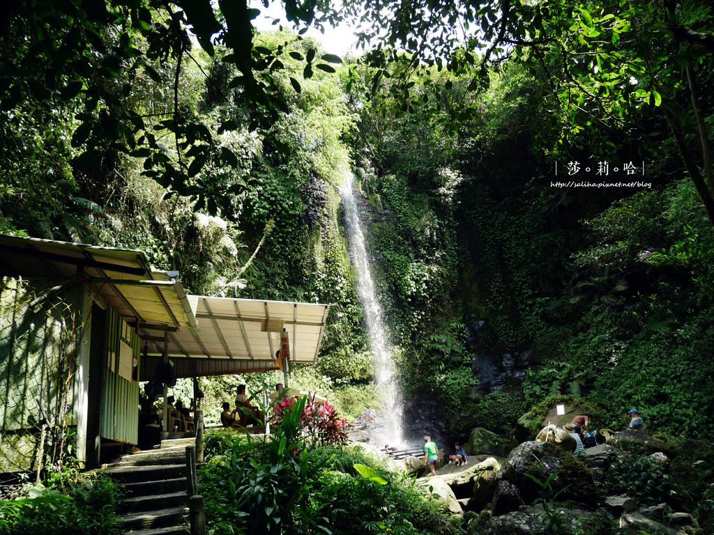 台北新北旅遊親子景點私房秘境夏天免費玩水瀑布踏青登山砲仔崙四龍瀑布 (2)