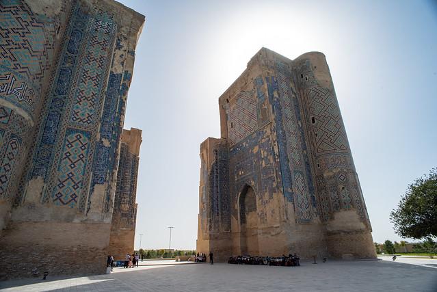 Ak-Saray Palace (Temur's Summer Palace), Shakhrisabz, Uzbekistan