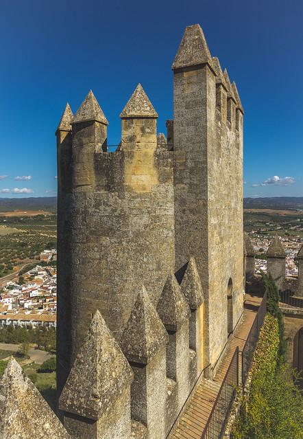 Spain - Cordoba - Almodovar del Rio - Castle
