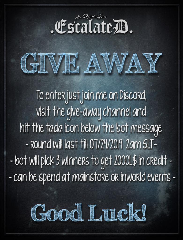 3 x 2000L$ Storecredit Give Away on Discord - TeleportHub.com Live!