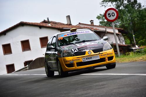 Iñigo Errasti, Renault Clio Sport, XXII Subida a Salinas 2019