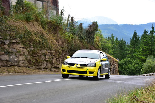 Aitor Frutos, Renault Clio Sport, XXII Subida a Salinas 2019