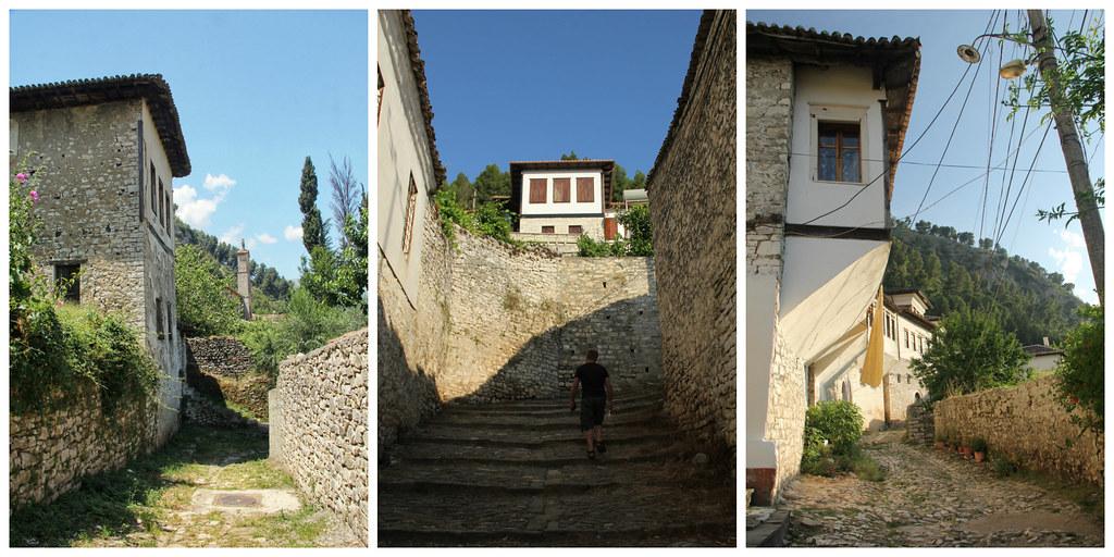 The streets of Berat, Albania