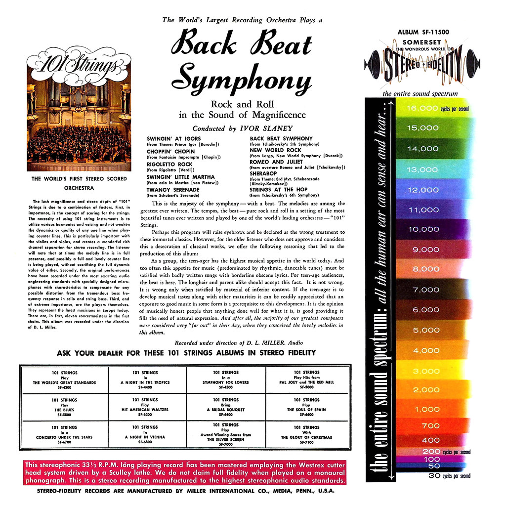 101 Strings - Back Beat Symphony b