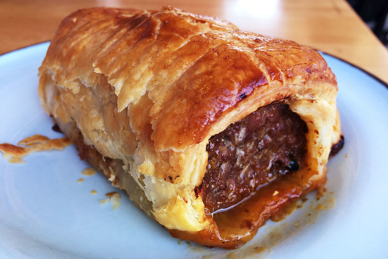 Sausage roll: The Grumpy Baker
