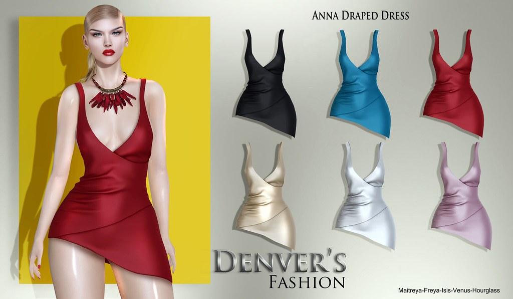 Denver's Anna Draped Dress