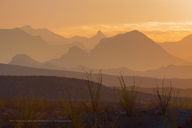 Chisos Mountains Sunrise