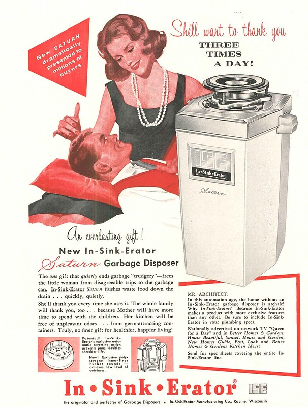 In-Sink-Erator 1960
