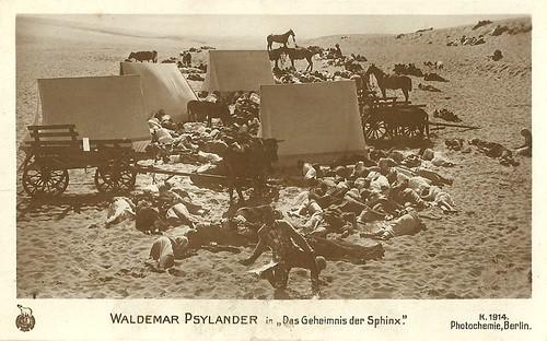 Valdemar Psilander in Sfinxens Hemmelighed (1918)