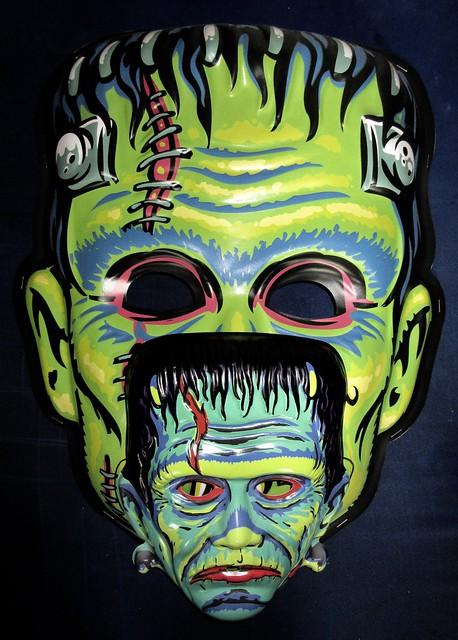 Frankenstein Giant / Regular Retro Monster Masks NYC 6016