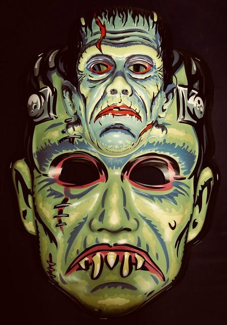 Frankenstein Giant / Regular Retro Monster Masks NYC 6027