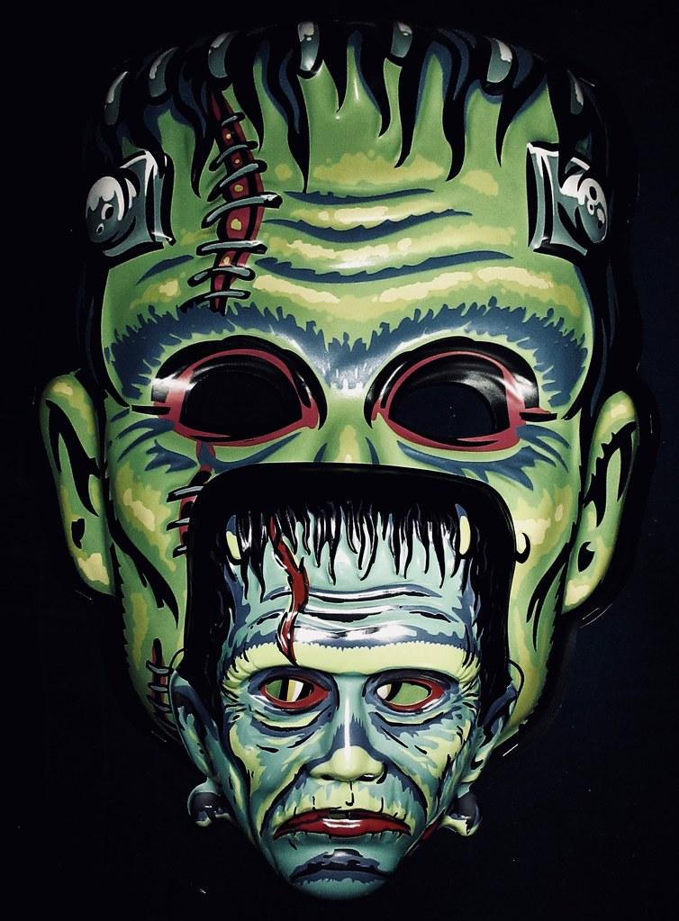Frankenstein Giant / Regular Retro Monster Masks NYC 6023