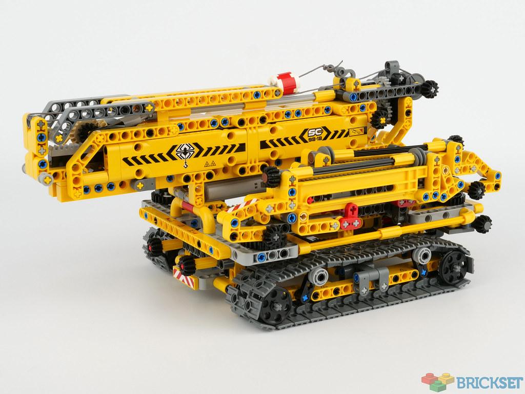 LEGO Technic 42097 Compact Crawler Crane review