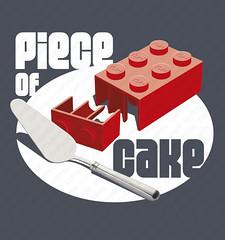shirt piece of cake