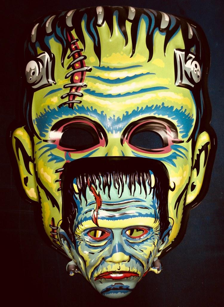 Frankenstein Giant / Regular Retro Monster Masks NYC 6017