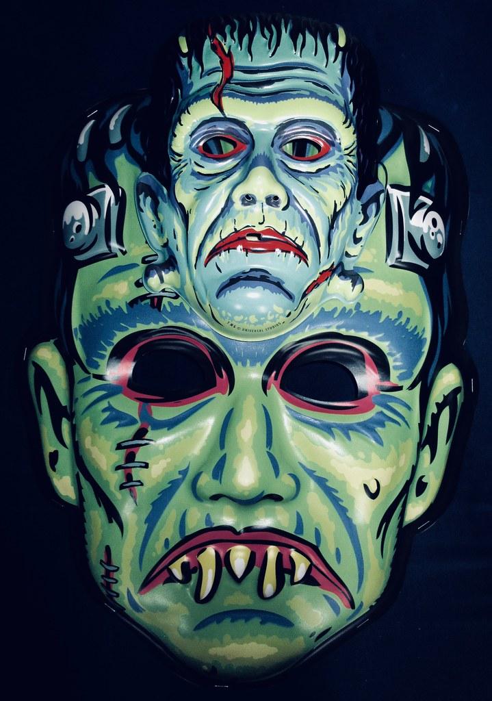 Frankenstein Giant / Regular Retro Monster Masks NYC 6026