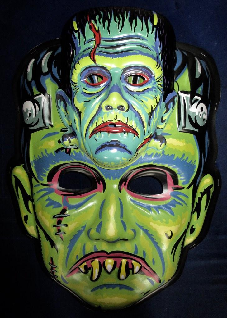 Frankenstein Giant / Regular Retro Monster Masks NYC 6025