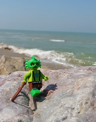 Walk on the coast of Normandy !!