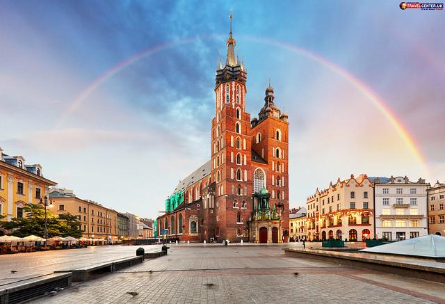 Krakow with Rainbow