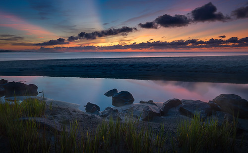 canon georgia gouldsinlet stsimonsisland summer bluehour clouds color dawn landscape light longexposure marsh nature reflection rock sand seascape shore sunrise twilight water wideangle
